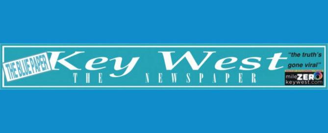 Key West News Paper Gringo Book