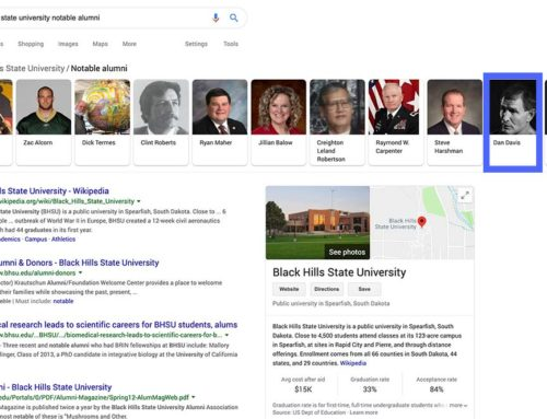 Notable Alumni: Black Hills State University, BHSU