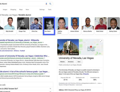 Notable Alumni: University of Nevada Las Vegas, UNLV