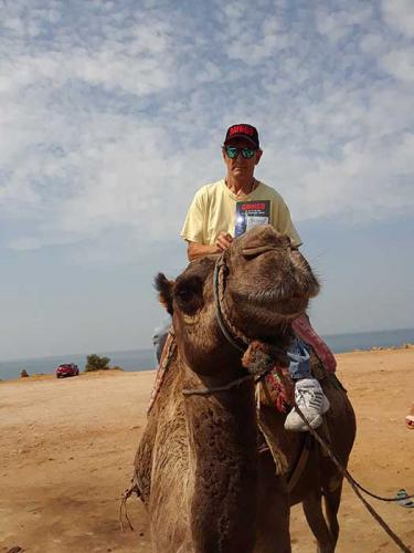 Tito, on Camel Morocco North Africa