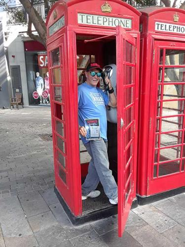 Gibraltar phone booth