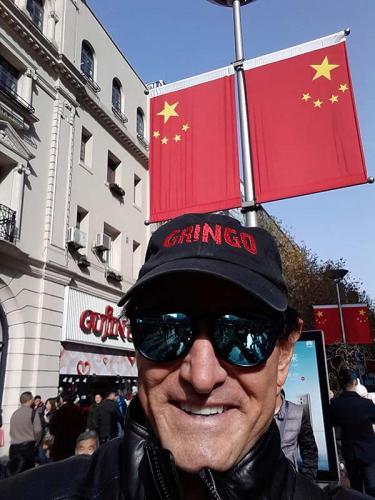 Gringo in Shanghai, China