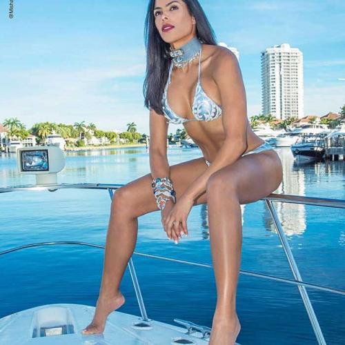 Ana Maria Amorer, Miss Venezuela International Loves GRINGO!!!