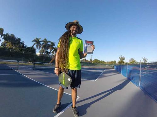 Pickleball Player Dreadlock Dan Loves Gringo!!