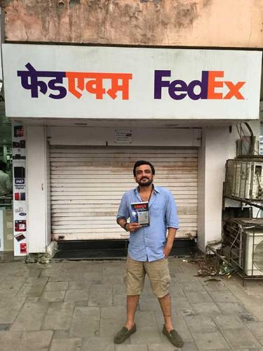 Mumbai, India: Bollywood director loves Gringo!!