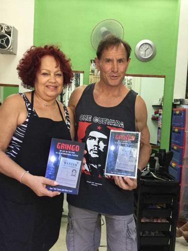 Gringo: in Havana, Cuba with hair stylist