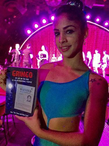 GRINGO: at the World Famous Tropicana Night Club, Havana, Cuba
