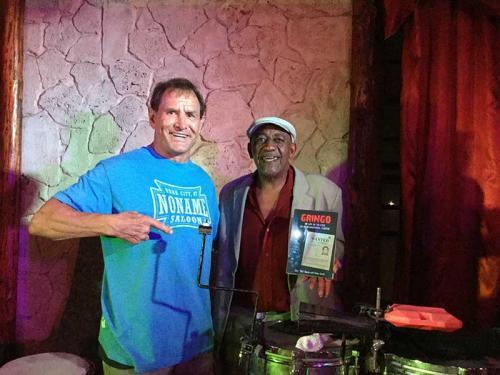 GRINGO on stage at The Havana Social Club, Havana, Cuba