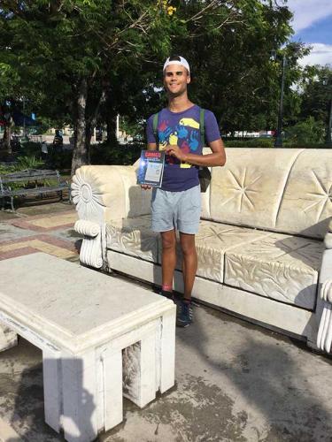Street performer Santiago de Cuba
