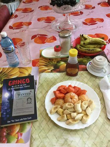 Cuban breakfast, Santiago de Cuba