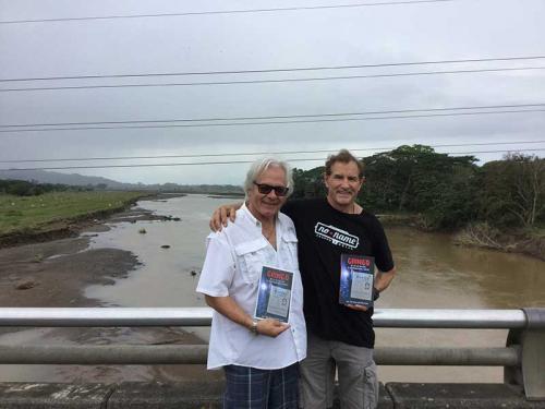 In Costa Rica with old friend from El Yaque, Venezuela, Josef Dvoracek