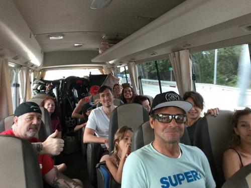 On the road with friends from my Venezuelan days, in Costa Rica