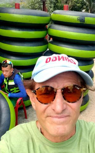 Dan Tito Davis river to tubing jungles of Colombia
