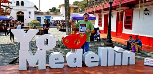 Dan Tito Davis in Medellin, Colombia