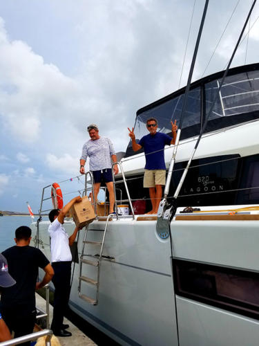 Sailing  with legend Warren Blackie Anderson in Indonesia