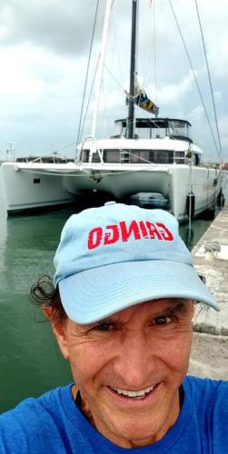 Dan Tito Davis sailing in Indonesia