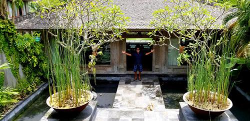 Gringo With marijuana smuggling Legend Warren  Blackie Anderson in Indonesia