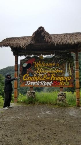 "Bicycle riding ""Death Road"" Bolivia. The World's Most  Dangerous Highway.   Starts at 15,200 ft."